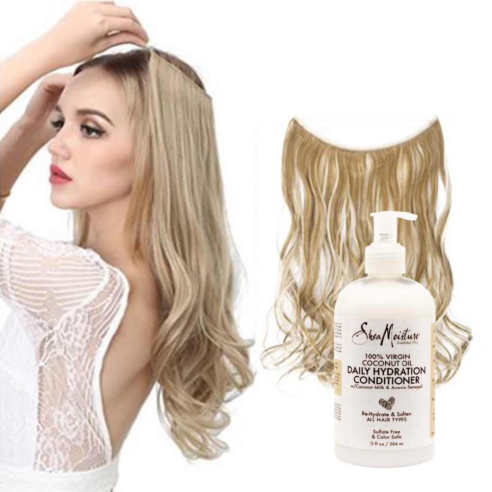 Condition Your Hair Extensions