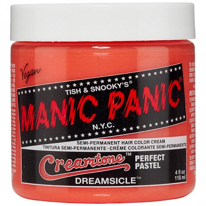 manic panic creamtone perfect pastel hair colour