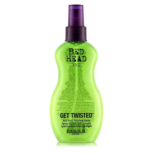 tigi bed head get twisted anti frizz finishing spray