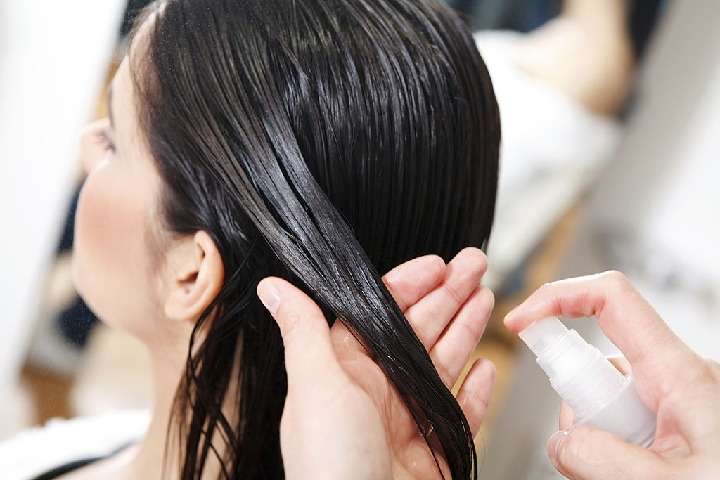 Hair salon treatment