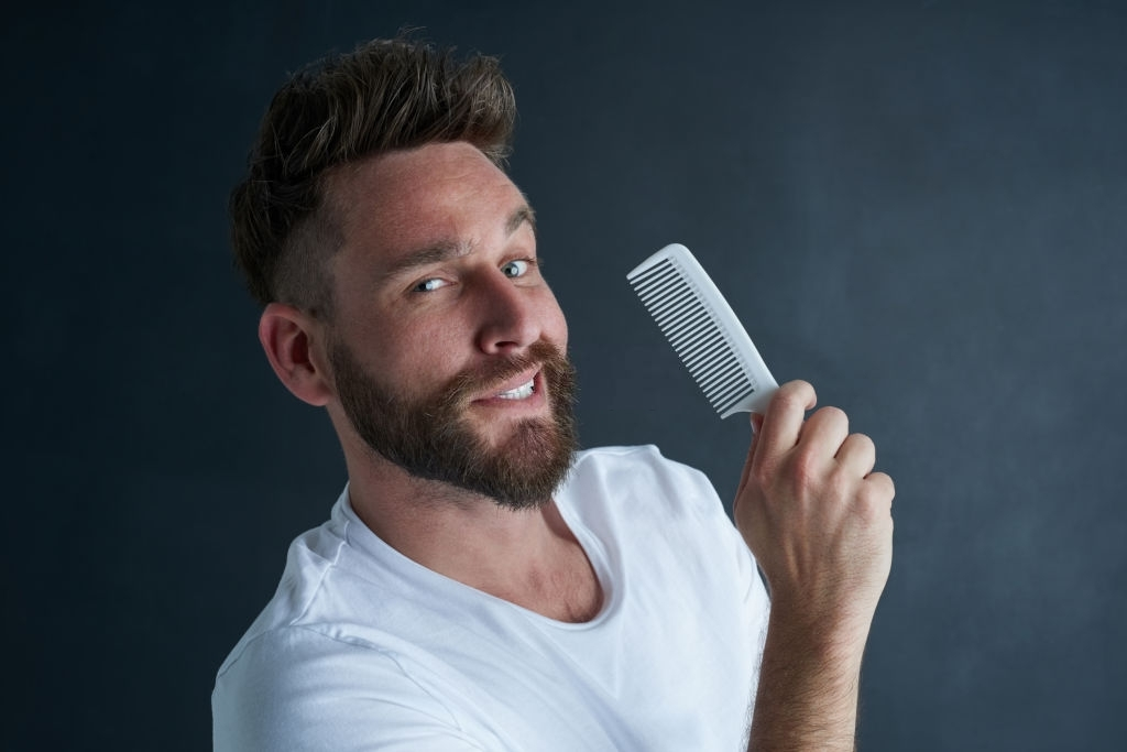 Use a proper hairbrush - How to Style Men's Hair