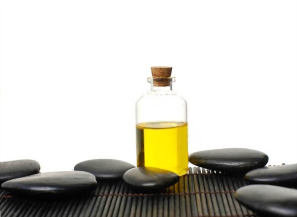 hot massage oil for removing hair dye