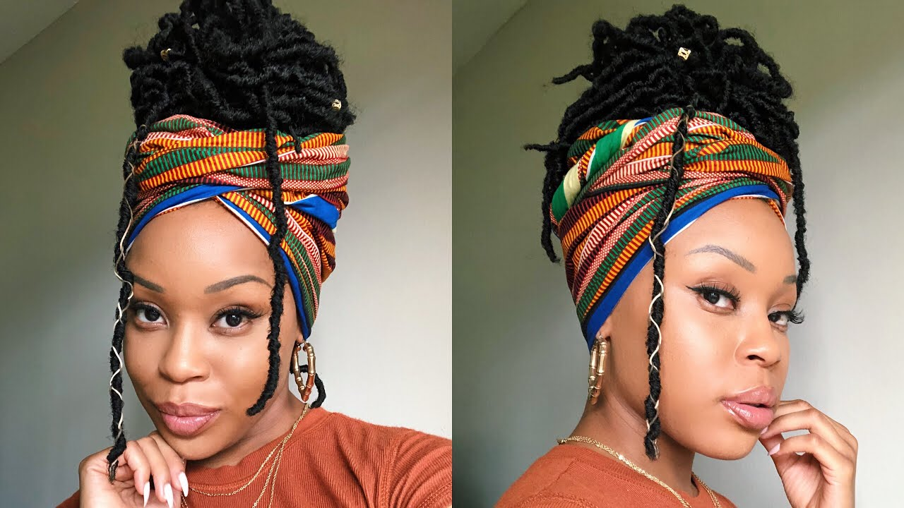 LOC Head Wrap - Style Your Natural Hair