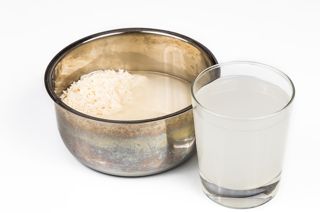 Water from rice