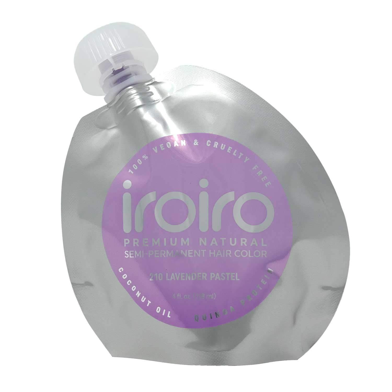 Iroiro 210 Lavender Pastel Vegan Cruelty-Free Semi-Permanent Hair Colour