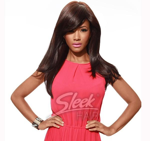 Sleek Tongable Synthetic Wig Candace