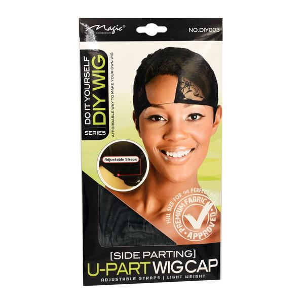 Magic Collection Women's U Part Wig Cap (side Parting) ( Diy003 )