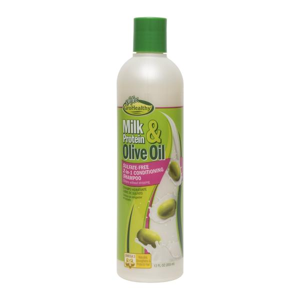 Sof N' Free Gro Healthy Milk & Olive Sulphate Free 2in1 Conditioning Shampoo