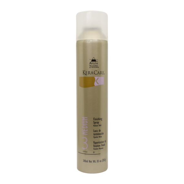 Keracare Finishing Spray Medium Hold 10 fl.oz