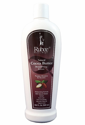 Rubee Natural Cocoa Butter Lotion