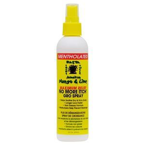 Jamaican Mango & Lime No More Itch Gro Spray (mentholated)