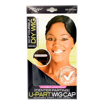 Magic Collection Women's U Part Wig Cap (center Parting) ( Diy004 )