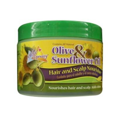 Sof N' Free N' Pretty Olive & Sunflower Hair & Scalp Nourisher
