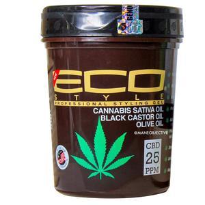Eco Styler Cannabis Sativa Oil Black Castor Oil Olive Oil Gel