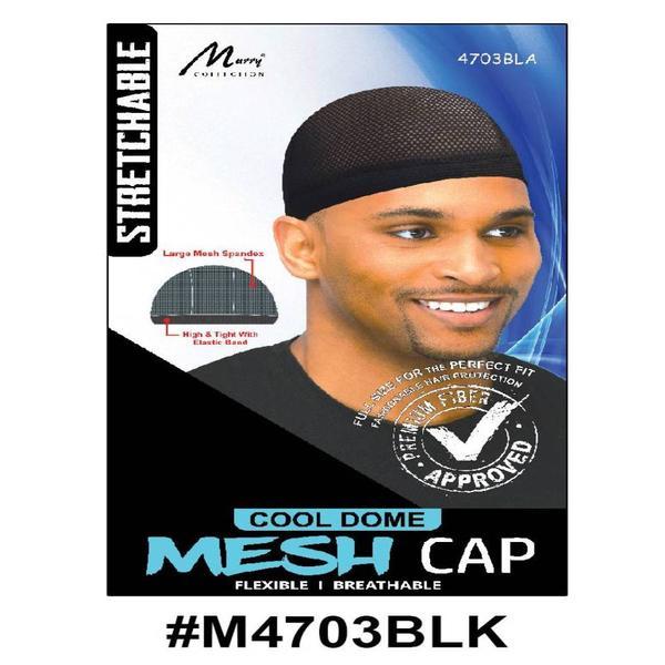 Murry Mesh Cap Black - M4703blk