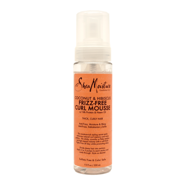 Shea Moisture Coconut & Hibiscus Frizz-Free Curl Mousse