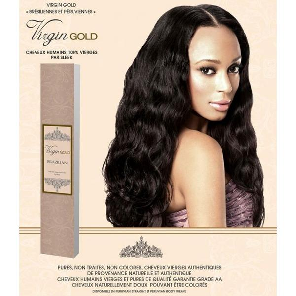 Sleek 100% Virgin Brazilian Human Hair Gold Curl