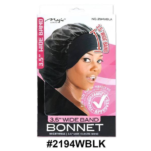Magic Collection Women's 3.5 Wide Band Bonnet 2194wblk