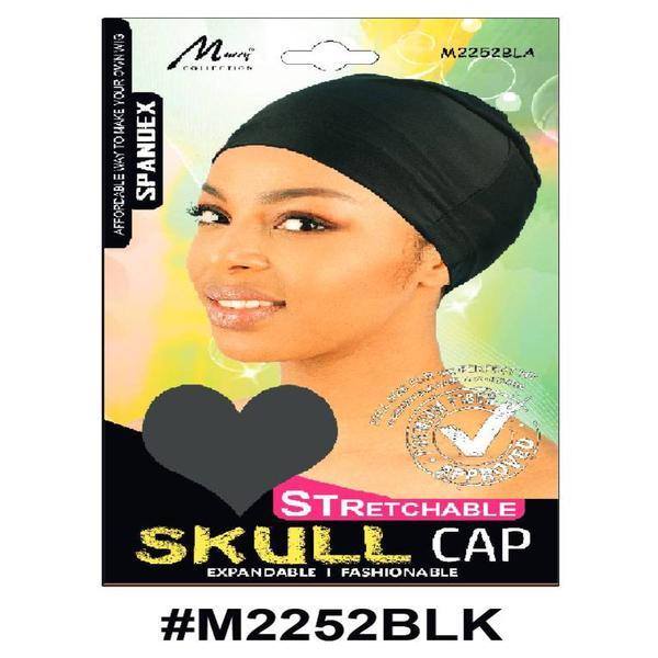 Murry Skull Cap Black - M2252blk