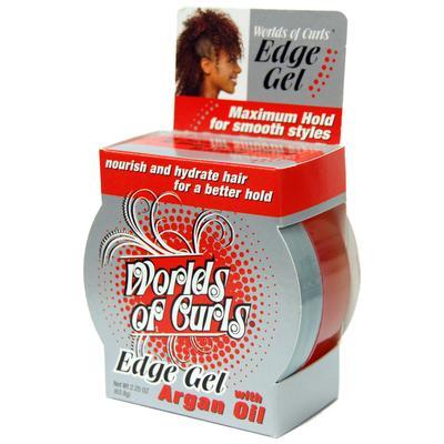 World Of Curls Edge Gel With Argan Oil