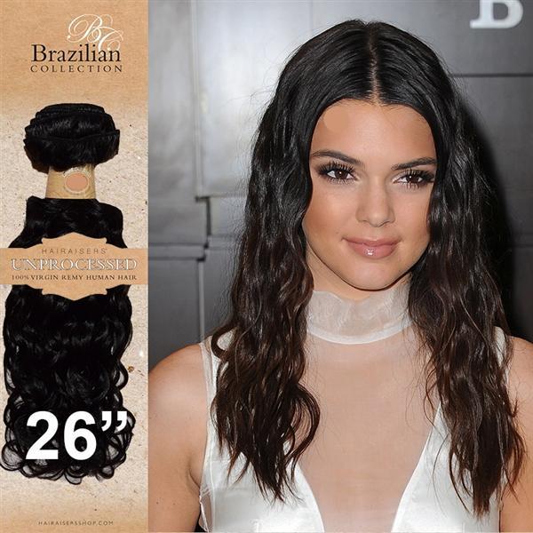 Hairaiser Brazilian Jackson Curl Remy Human Hair Weft 100g