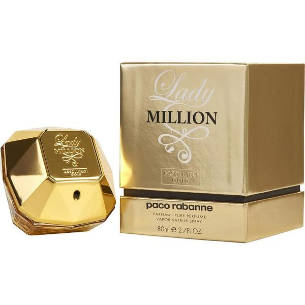 Paco Rabanne Lady Million Absolutely Gold Pure Perfume Spray