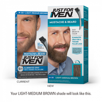 Just For Men Moustache & Beard Color