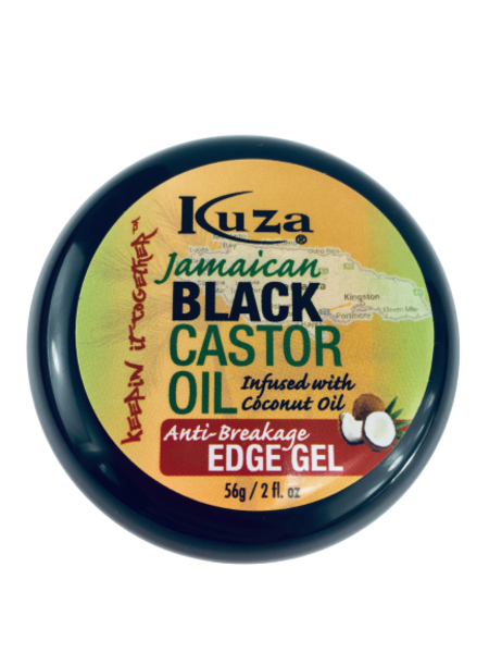 Kuza Jamaican Black Castor Oil Anti-breakage Edge Gel
