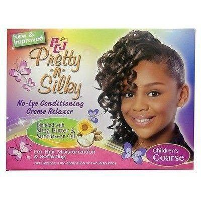 Luster Pcj Pretty-n-silky No-lye Children's Conditioning Creme Relaxer
