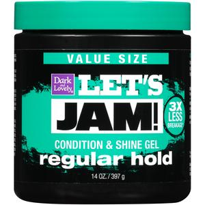 Let's Jam Shining And Conditioning Gel - Regular Hold