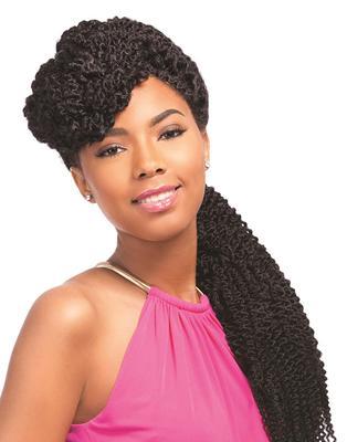 Sensationnel Empress Braided Synthetic Lace Wig - Senegal Blunt Braids