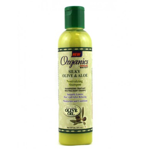 Original Africa's Best Silky Olive And Aloe Neutralizing Shampoo