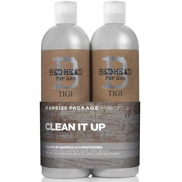 Tigi Bed Head For Men Clean Up Shampoo And Conditioner Duo Pack
