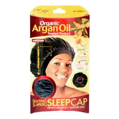 Magic Collection Women's Organic Argan Oil Treated Extra Large Sleep Cap ( 3002 )