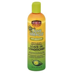 African Pride Olive Miracle Hair & Scalp Strengthening Leave-in Conditioner