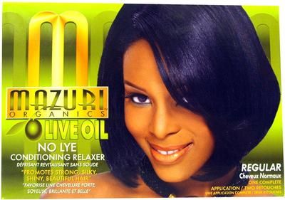 Mazuri Olive Oil No Lye Conditioning Relaxer