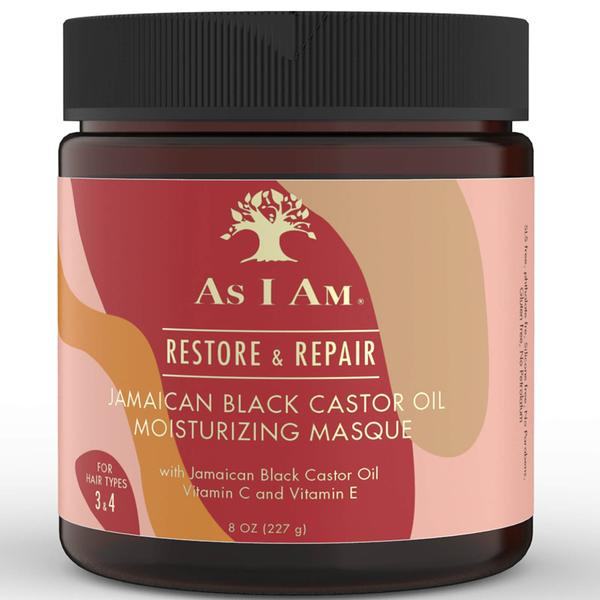 As I Am Jamaican Black Castor Oil Masque