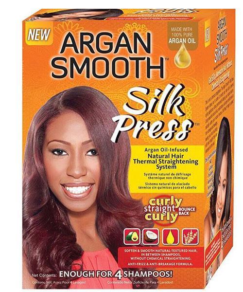 Argan Smooth Silk Press System