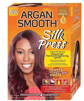 Argan Smooth Silk Press System