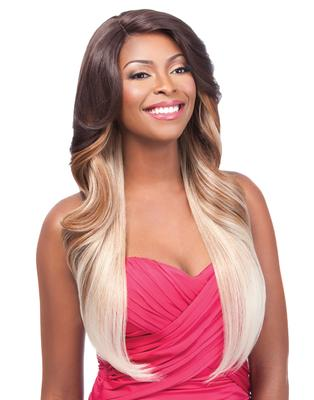 Instant Fashion Synthetic Lace Part Wig Couture - Maylene