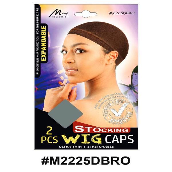 Murry Stocking Wig Cap Dark Brown - M2225dbro