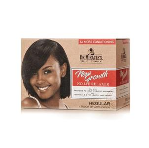 Dr Miracles New Growth Touch Up Application Relaxer Kit