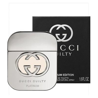 Gucci Guilty Platinum Eau De Toilette Spray