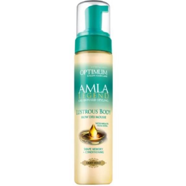 Optimum Amla Legend Lustrous Body Blow Dry Mousse
