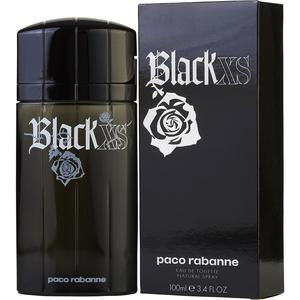 Paco Rabanne Black Xs Eau De Toilette Spray Old Packaging