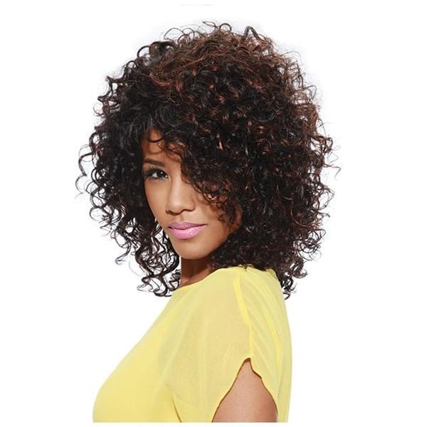 Sleek Tongable Synthetic Wig Nadia