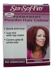 Sta Sof Fro Permanent Powder Hair Dye