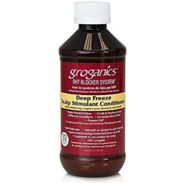 Groganics Deep Freeze Scalp Stimulant Conditioner