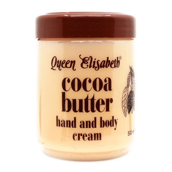 Queen Elisabeth Cocoa Butter Hand And Body Cream