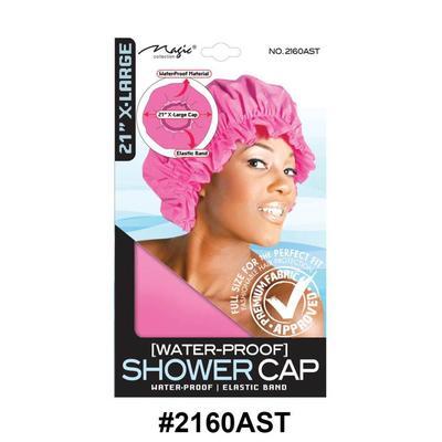 "Magic Collection Women's Shower 21"" Cap 2160ast"